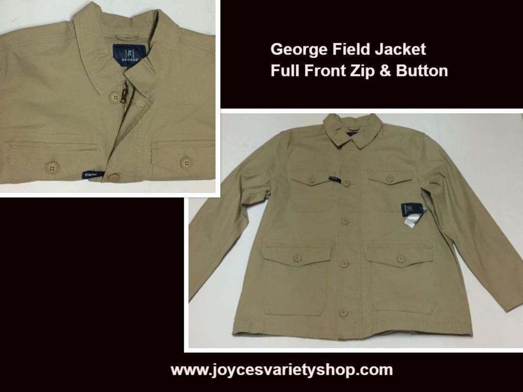 George field jacket web xl collage
