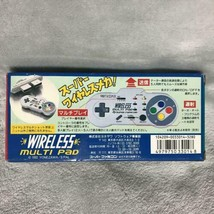 Yonezawa Nintendo Super Famicon Wireless Multi Pad Controller 1993 New Non Usato image 2