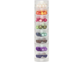 We R Memory Keepers Small Screw Stack Jars, 8 Count #660423