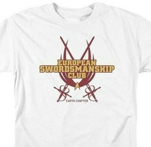 Star Trek T-shirt European Swordsmanship Club Earth Chpt graphic tee CBS850 image 2