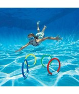 Throwing Toys Swimming Pool Beach Summer Children Underwater Diving Ring... - $18.36