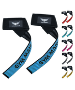 Gym Maniac GM Weight Lifting Straps - Non-Slip Flex Gel Pad with Rubber ... - $12.90