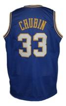 Steve Chubin #33 Indiana Aba Basketball Jersey Sewn Blue Any Size image 5