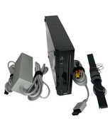 Nintendo Wii System RVL-001 BLACK Gamecube Compatible With All Cords - $93.05