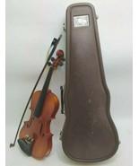 Suzuki 220 1/2 Violin 1982 Musical Instrument w/Case & Bow Student 900 N... - $148.49
