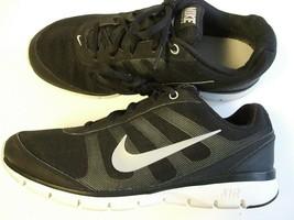Women's Nike Air Training Total Core TR Black & Silver 7.5 Med EUC - $20.00