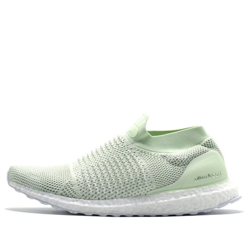 Adidas Ultraboost LTD Men Laceless Shoes BB6223 Ash Green Sneakers Sz 9.5 , 10.5