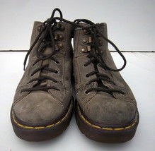 DR. MARTENS - Adult #8088 (4 Eye)Gray Leather Air Wair Boots - US Men 5/... - $29.99