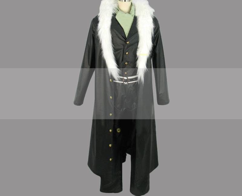 One piece shichibukai crocodile cosplay costume