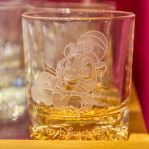 Tokyo Disney Resort Aladdin Chandu Whiskey glass Rock glass Cup Disney S... - $68.31