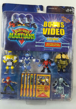 "Vintage 2001 Butt Ugly Martians 2"" Action Figures W/ Card & Bonus Video New - $20.00"