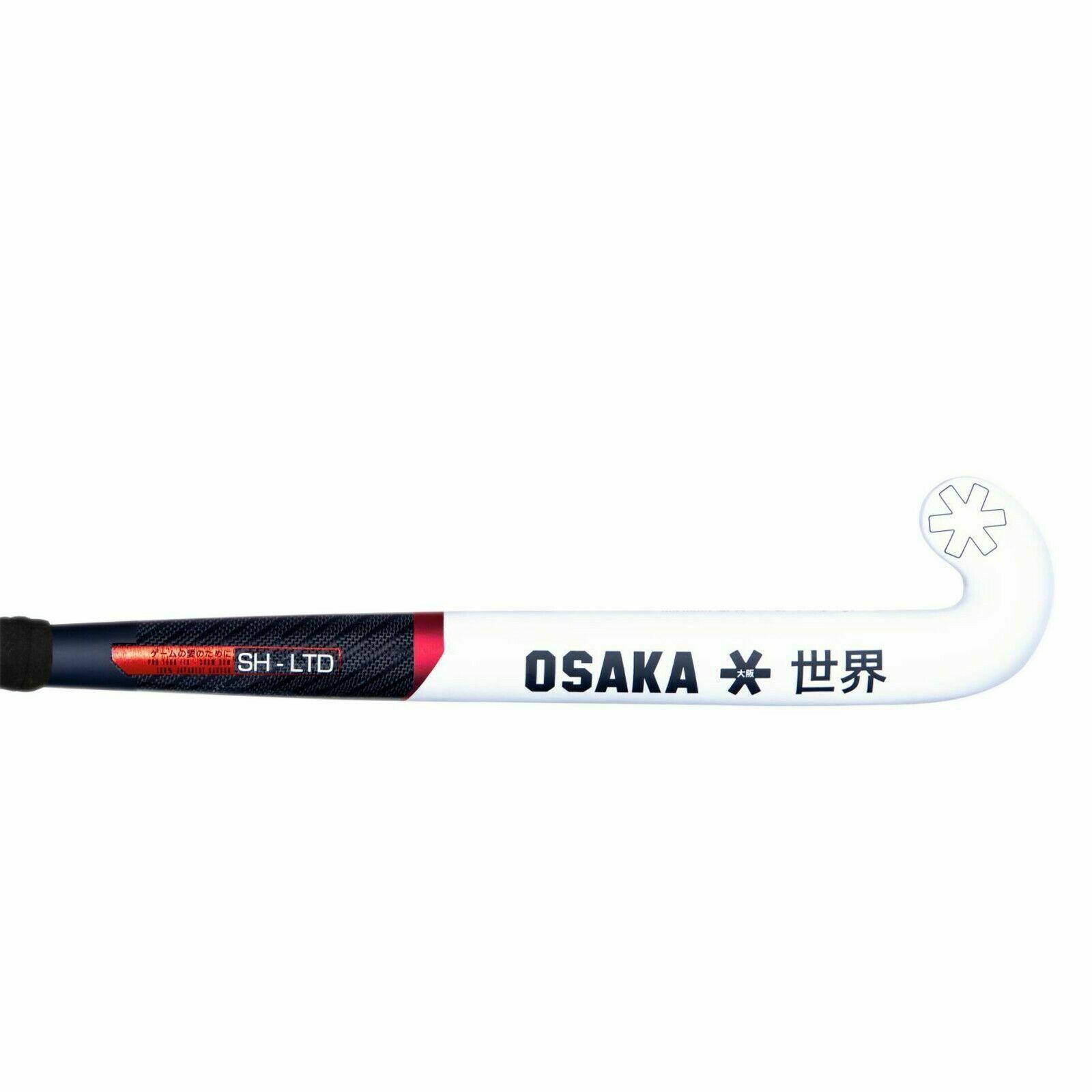 Osaka Pro Tour Silver MidBow 2017 Hockey Stick 2018 free grip /& bag 37.5