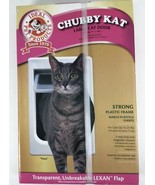 """NEW Ideal Pet Products Chubby Kat Large Cat Door 7 1/2"""" x 10 1/2"""" Cats - $17.75"""