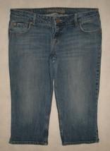 American Eagle AE Artist Crop Capri Denim Jeans Size 14 Reg - $24.99