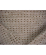 1Y LEE JOFA SUPERB DUSTY BLUE / ESPRESSO VELVETY CHENILLE UPHOLSTERY FABRIC - $18.25