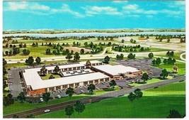 Holiday Inn Postcard East Springfield Illinois Curt Teich Advertising Hotel - $2.27