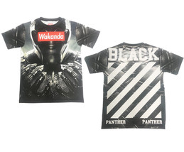 Wakanda Black Panther Inspired Streetwear All Over print Custom Cut and ... - $19.95