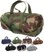 """Camo Tactical Shoulder Bag Sports Canvas Gym Duffle Carry Strap Tote 19"""" - $16.99+"""