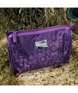 New Kenneth Cole Reaction Purple Cosmetic Makeup Travel Bag - $19.95