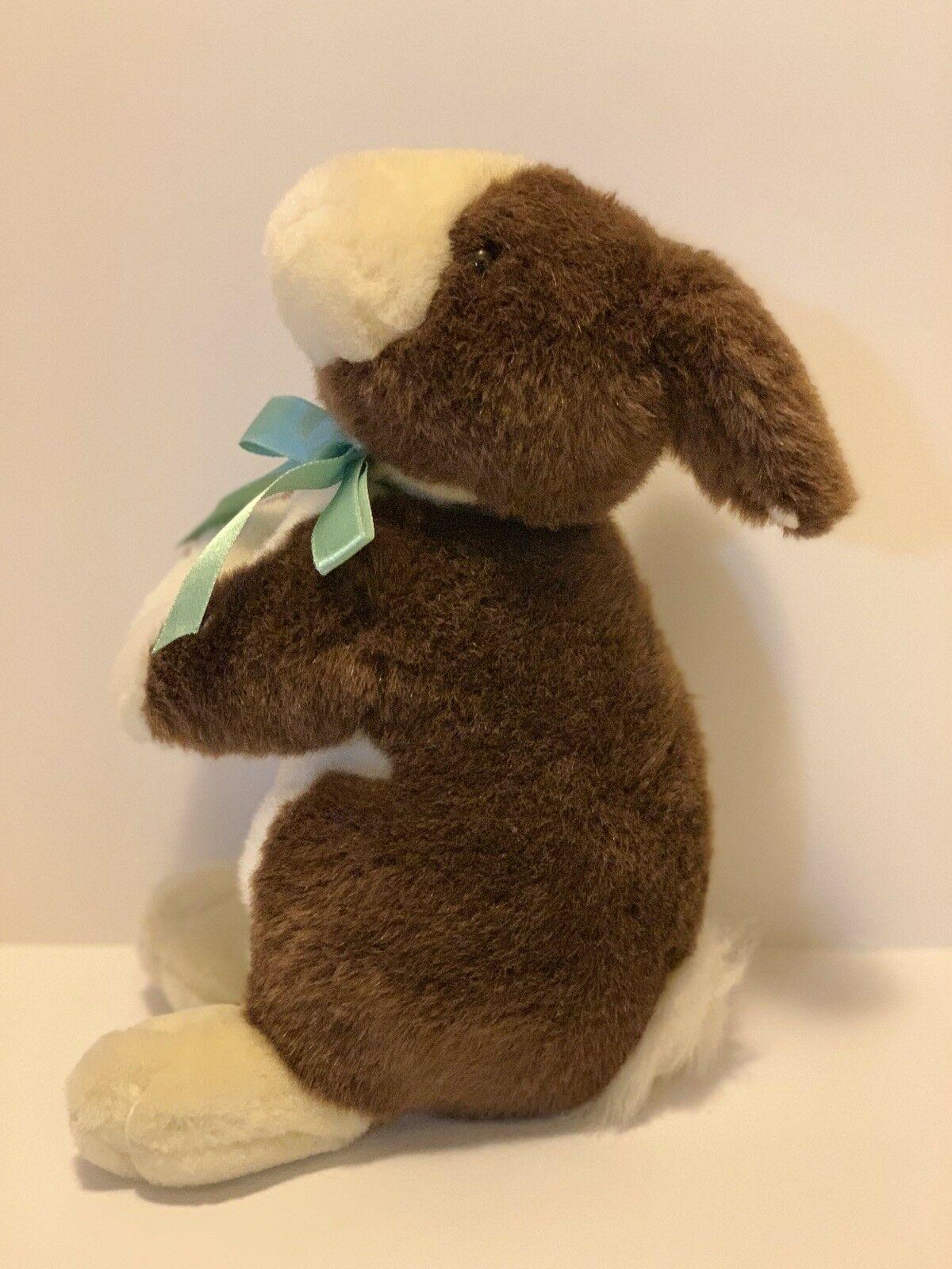 "Commonwealth Plush Standing Bunny Rabbit 11"" Brown Tan Stuffed Animal 1999"