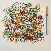 Huge Lot of Rubber Bands Small Colorful Rounds Great for Crafts Projects  - $7.90