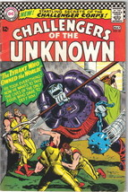 Challengers of the Unknown Comic Book #49 DC Comics 1966 FINE - $14.49