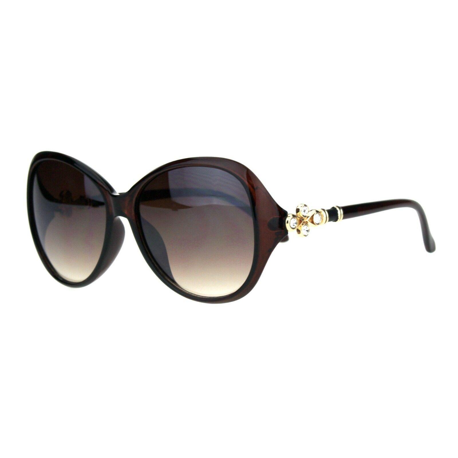 Womens Designer Style Sunglasses Pretty Rhinestone Fashion UV 400