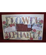 Cynthia Hart Stamp Kit Victorian Alphabet Flowers Supplies ABCs - $20.00