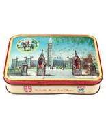 Vintage Canadian Souvenir Tin - Harry Vincent Blue Bird Toffee Box - $14.03
