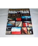 VTG 1981 Road & Track Car Magazine 10 Best 80s Cars, Audi Coupe, Pontiac... - $9.29
