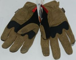 Mechanix Wear 911751 M PACT Impact Protection Gloves Brown Black XL image 3