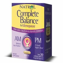 Natrol Complete Balance For Menopause AM&PM Capsules, 30 Ct.. - $25.73