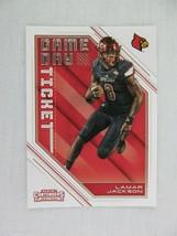 Lamar Jackson Louisville Cardinals 2018 Panini Contenders Draft Football... - $0.98