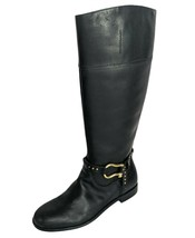 Sperry Size 8.5 Top-Sider Sable Waterproof Riding Boot Black Leather Sid... - $52.92