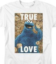 Sesame Street T-shirt Cookie Monster True Love Retro TV graphic tee SST145 image 3