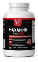 Amino acids supplements for weight loss - MAXAMINO PLUS 1200 1B- Fat burner - $22.91