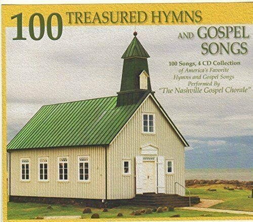 Primary image for 100 TREASURED HYMNS AND GOSPEL SONGS 4-CD COLLECTION