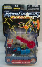 "Hasbro Transformers Energon SIGNAL FLARE 4"" Action Figure Toy 2003 NEW - $19.80"