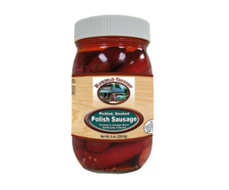 Backroad Country Pickled Smoked or Pickled Hot Polish Sausage- Two 8 oz.... - $29.99