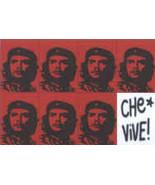 Che Guevara Poster Flag Vive Logo  - $12.99