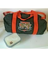 50th Anniversary Philadelphia Flyers Small Duffle Gym Travel Bag & Food ... - $19.99