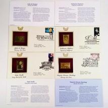 KATHARINE HEPBURN, KATE SMITH, JULIA BURGOS FDI 22kt Gold Replica Cover ... - $25.60