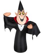 Halloween Vampire Dracula Outdoor Yard Decor Airblown Inflatable Decorat... - $39.99