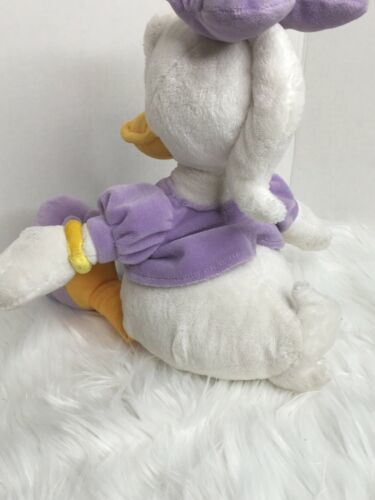 "Disney Store Daisy Duck Lavender Stuffed Plush 17"" image 5"