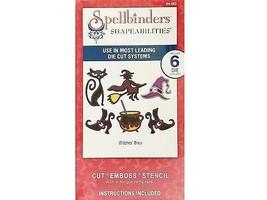 Spellbinders Shapeabilities Witches' Brew Die Set #S4-282