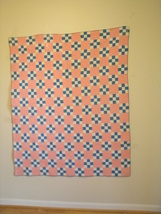 Check It Out: A Charming and Original Hand Sewn Checkerboard Crib Quilt - $65.00