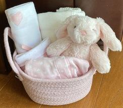 Rachel Rabbit Baby Gift Basket- Small - $49.00