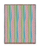 Wavy Stripes Whimsy Throw - 70 x 54 Blanket/Throw - $64.95