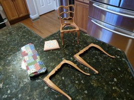 Vtg 1964 #4010 Table Legs Chair Barbie Go-Together Dining Room - Parts Only - $52.45