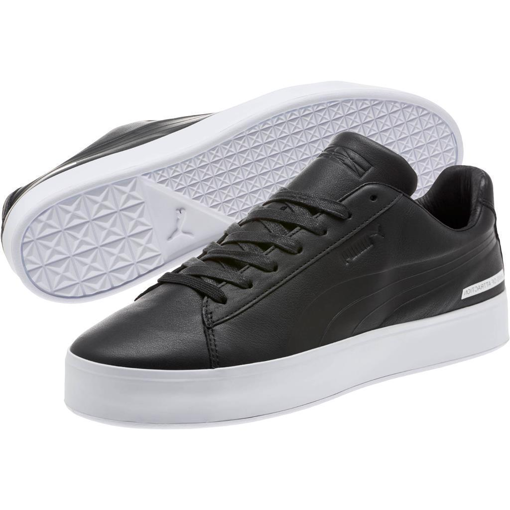 Puma BLVCK SCVLE BLVCK IS BEAUTIFUL Laws Attraction Leather Shoes MNS 7.5 NEW